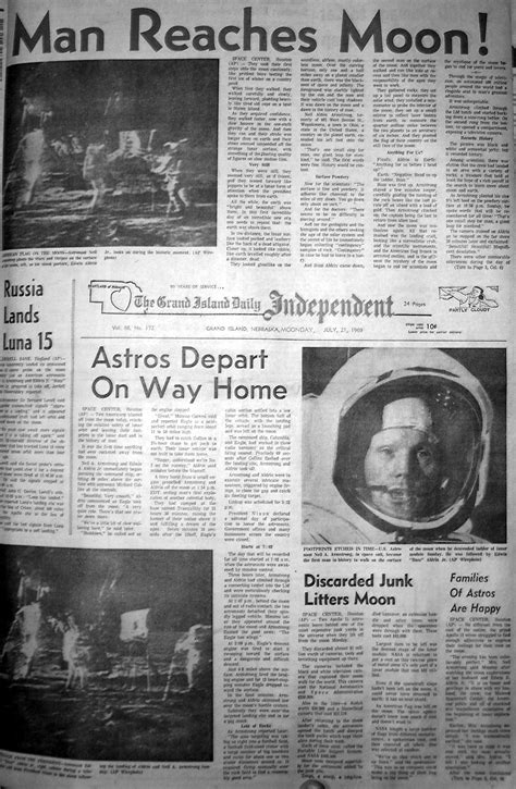 neil armstrong  misquoted page