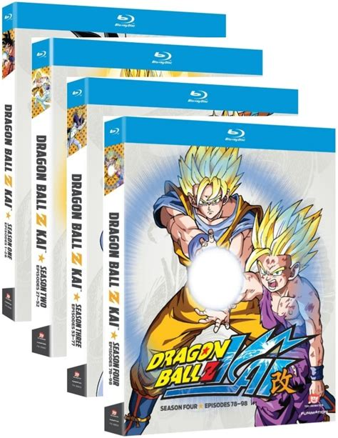 Maybe you would like to learn more about one of these? Dragon Ball Z Kai Seasons 1,2,3 & 4 Ep. 1-98 Complete ...