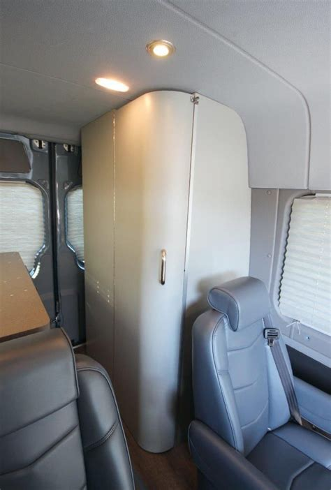 Best ever camper van with bathroom google search shower trailers s pt q t5 vw mercedes sprinter rv stealth vans just got classy pin on campers design camper van built in mercedes benz sprinter comes with kitchen two showers. Sprinter Day-Tripper with Bathroom | Sprinter rv, Sprinter, Sprinter van