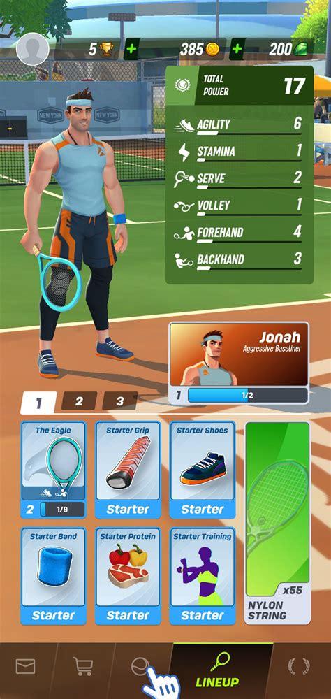 tennis clash  descargar  android apk gratis