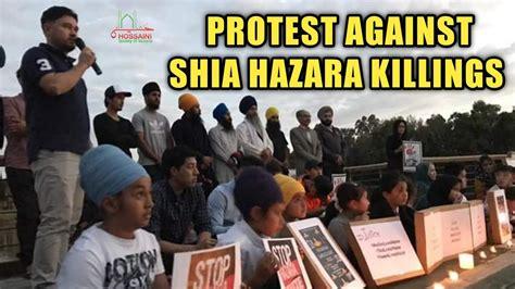Protest Against Killings of Shia Hazaras - YouTube