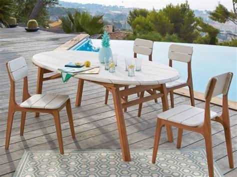 table chaise jardin pas cher beautiful salon de jardin blanc et bois pictures