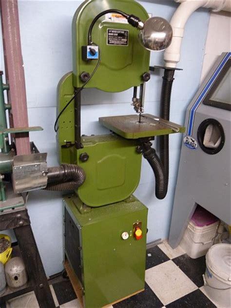 bandsaw conversion  dc drivewood  metal cutting