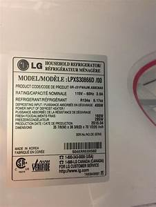 Lg Refrigerator Lpxs30866d  00