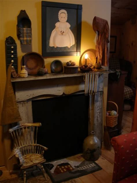 Primitive Decorating Ideas For Fireplace by 25 Best Ideas About Primitive Fireplace On