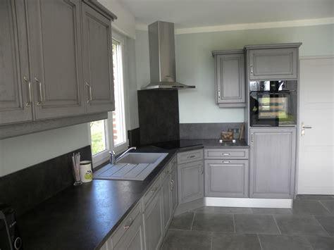 la cuisine de gilles cuisine gris foncé patine grise gilles martel