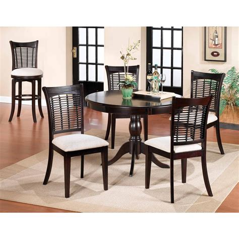cherry dining table hillsdale furniture bayberry dark cherry dining table