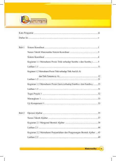 Koordinat kartesius bab 2 : Matematika Kelas 8 Semester 1 Kurikulum 2013 - Guru Galeri