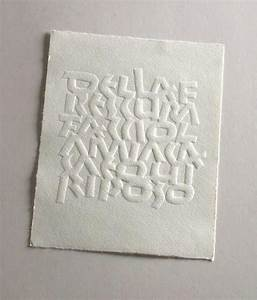 17 best images about embossing en knippen on pinterest for Embossed letters