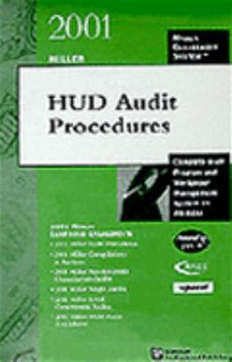 miller hud audit procedures complete audit program