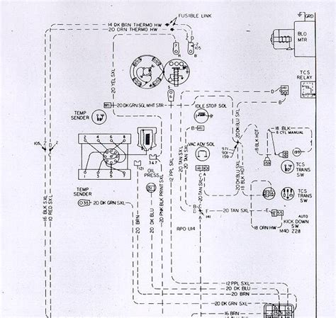 Free Auto Wiring Diagram Chevrolet Camaro Engine
