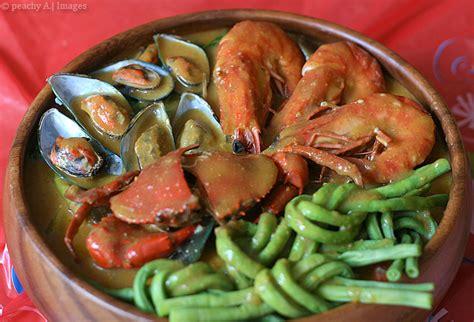 seafood kare kare   change  peach kitchen
