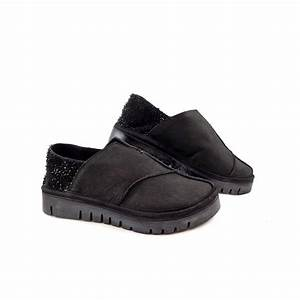 Papucei Marcie Slip On Loafer Shoes in Black Leather ...