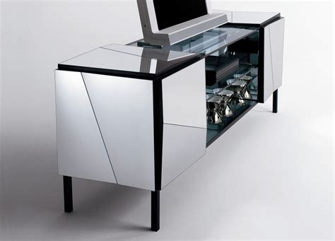 mirrored credenza sideboard psiche mirrored sideboard sideboards tonelli design 4159