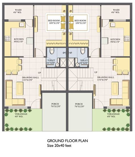 apartment 3d floor plans sigma realty quality