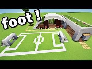 Petit But De Foot : maison de luxe et terrain de foot sur minecraft tuto youtube ~ Melissatoandfro.com Idées de Décoration