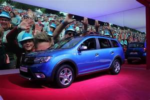 Dacia Sandero Automatique 2017 : dacia logan mcv stepway break de look vid o en direct du salon de gen ve 2017 ~ Maxctalentgroup.com Avis de Voitures