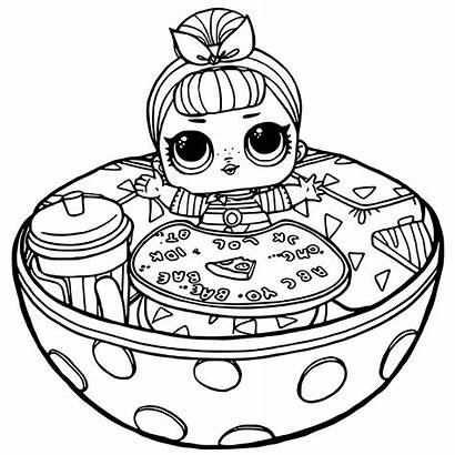Lol Coloring Pages Dolls Doll Printable Getcolorings