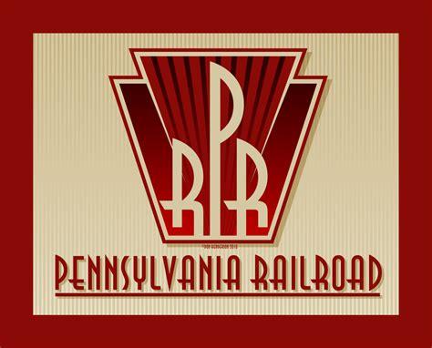 Prr Art Deco Logo By Yankeedog On Deviantart