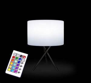 Lampe A Poser Sans Fil : lampe poser led tr pied h54 cm sans fil rechargeable 79 salon d 39 ~ Teatrodelosmanantiales.com Idées de Décoration