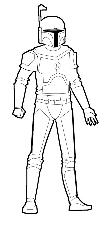 mandalorian armor template free mandalorian lineart by squeezybat on deviantart