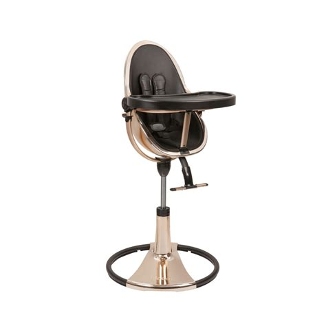 high chair fresco chrome gold by bloom