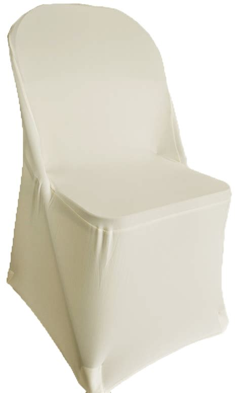 folding ivory spandex chair cover stretch folding chair