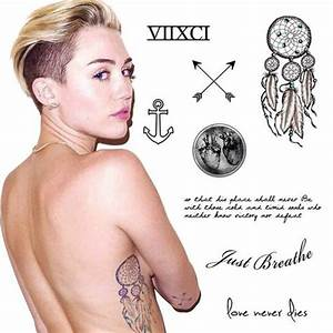 Jewels: jewel cult, miley cyrus tattoos, miley cyrus ...