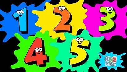 Numbers Preschool Count Lets Kindergarten Toddlers Simple
