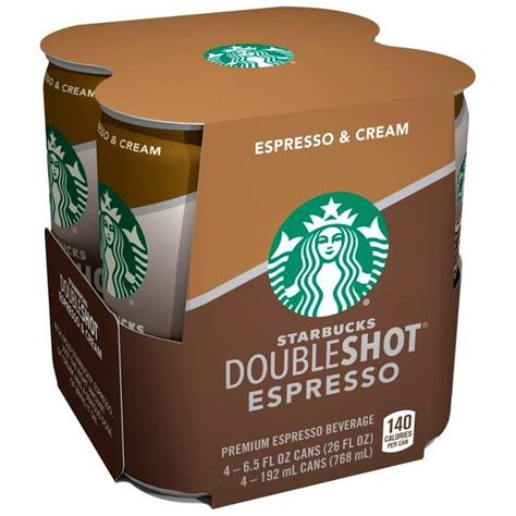 A double shot was derived from the italian term doppio, which simply means double in italian. Starbucks Double Shot Espresso And Cream Coffee Drink ...