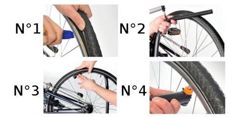 changer chambre à air vélo r 233 parer une crevaison 224 v 233 lo sans d 233 monter la roue
