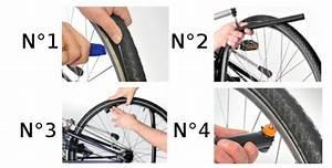 Reparer une crevaison a velo sans demonter la roue for Comment changer chambre air vtt