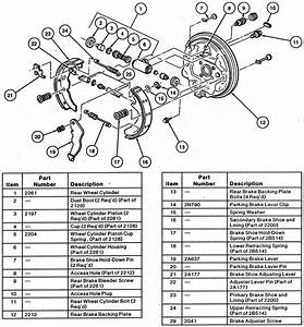 Solved  Brakes Rear I Have A Mercury Villager 1999 For Mon