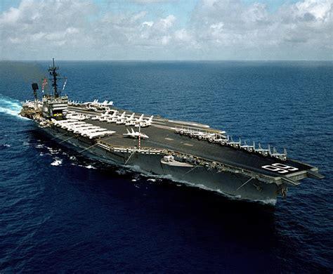uss america sinking photos maritimequest uss america cva 66 cv 66 page 2