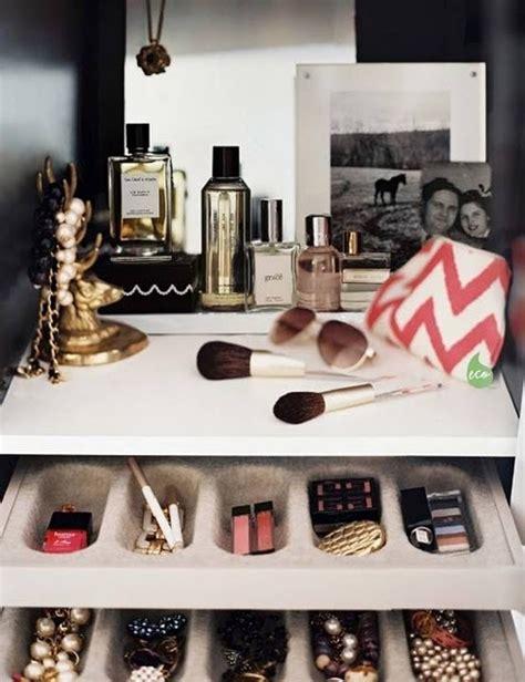 ways to organize your makeup 18 ways to organize your vanity