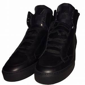 Sneakers Louis Vuitton Homme : baskets homme louis vuitton speaker sneaker boot cuir noir ~ Nature-et-papiers.com Idées de Décoration