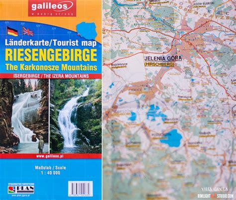 landkarte schlesien riesengebirge hirschberger tall