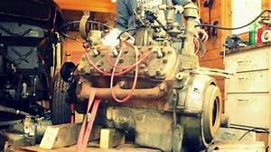 French Flathead V8 Started For The First Time In 20 Years
