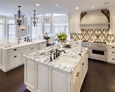 kitchen island alternatives 25 white granite countertop ideas the alternative 1832