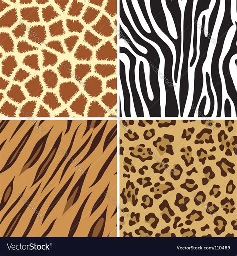 animal print pattern royalty  vector image
