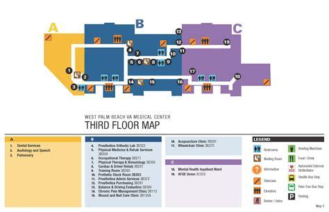 facility map west palm beach va medical center