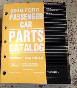 2010 Ford Mustang Parts Catalog Manual