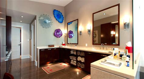 penthouse master bathroom  interior design ideas