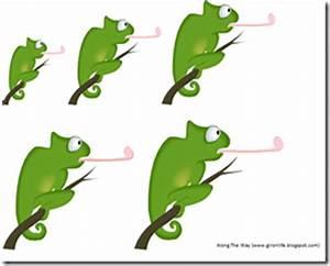 Along the Way: Preschool Corner ~ The Mixed-Up Chameleon
