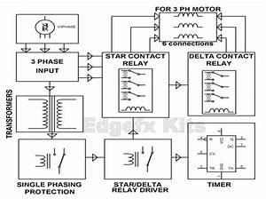 Soft Starter Circuit For Induction Motor