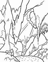 Cave Coloring Printable Quest Coloringcafe Vbs Sheet Caves Sheets Pdf Drawings Bat Preschool Crafts Painting History Notebook Deer sketch template