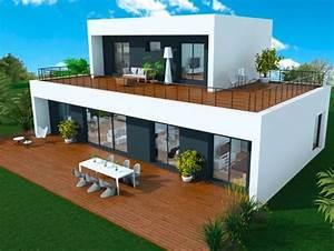 les 25 meilleures idees de la categorie maison ossature With plan de maison cubique 16 booa constructeur francais nouvelle generation