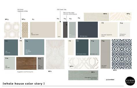 whole house color scheme sophisticated neutrals blues