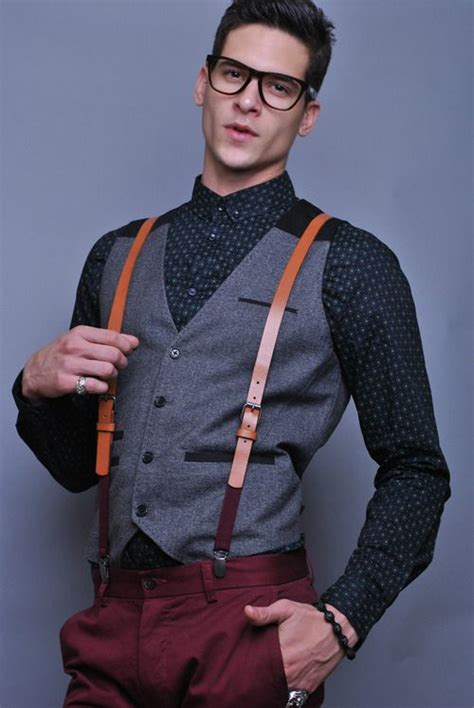 32 Suspenders Ideas For Mens Fashion