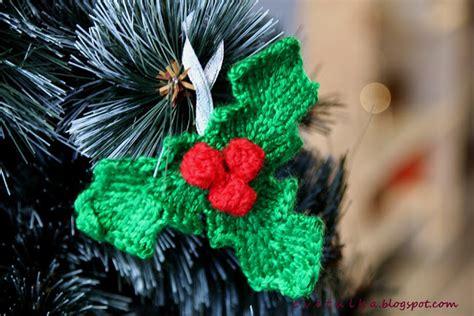 christmas knitting pattern decorations